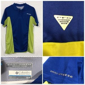 Columbia PFG polo size medium